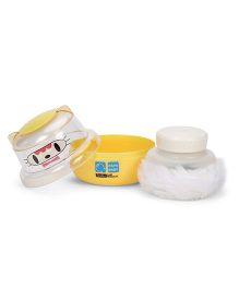 Baby Powder Puff - Yellow
