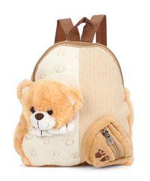 Starwalk Bear Head Plush Toy Bag Brown - 10 inches