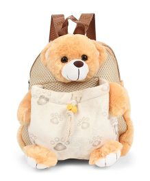Starwalk Bear Plush Toy Bag Brown - 10 inches