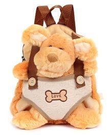 Starwalk Doggy Plush Toy Bag - Brown