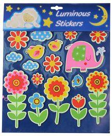 Flower And Animal Luminous Sticker