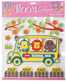 Bus Wall Stickers - Multicolor