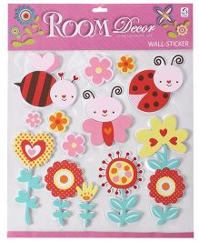 Birds And Animals Wall Stickers - Multicolor