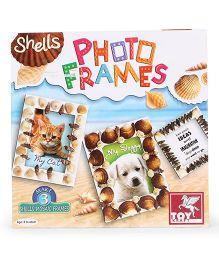 Toy Kraft Shells Mosaic Photo Frames