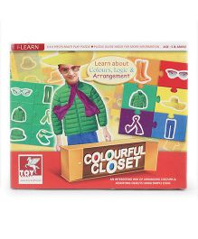 Toy Kraft Colourful Closet Puzzle