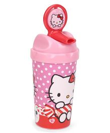 Hello Kitty Spinning Sipper Pink - 600 ml