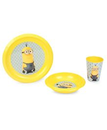 Minions Value Set Blue Yellow - Pack Of 3