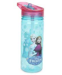 Disney Frozen Tritan Water Bottle Blue & Pink -  600 ml