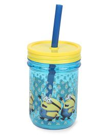 Minions Tumbler Sipper - Blue & Yellow