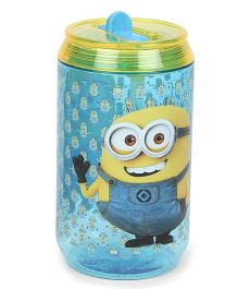 Minions Soda Canteen Water Bottle - Blue & Yellow