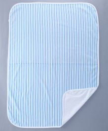 Bachha Essential Baby Blanket Stripes Print - Blue