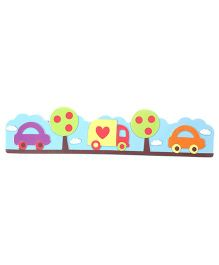 Car Wall Stickers - Multicolor