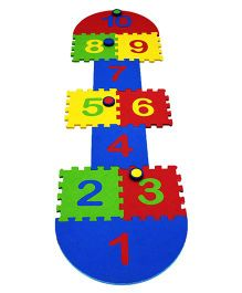 Cutez Hopscotch Mat - Multicolor