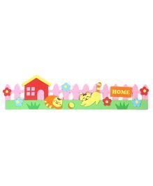 Home Print Wall Stickers - Multicolor