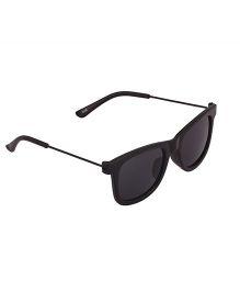 Spiky Classic Wayfarer Kids Sunglasses - Black