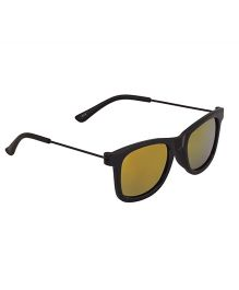 Spiky Classic Wayfarer Kids Sunglasses - Black &  Red