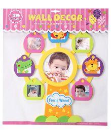 3D Frame Wall Sticker - Multicolor