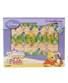 Simba My Friend Tigger And Pooh Domino Game Book  - 28 Pieces