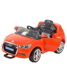 Toyhouse Officially Licensed Audi Sports Battery Operated Ride-On Car - Red