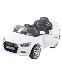 Toyhouse Officially Licensed Audi Sports Battery Operated Ride-On Car - White