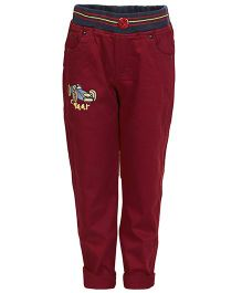 Benext Full Length Trousers - Maroon