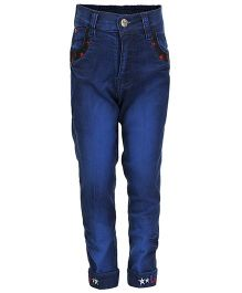 Benext Full Length Denim Trousers - Blue