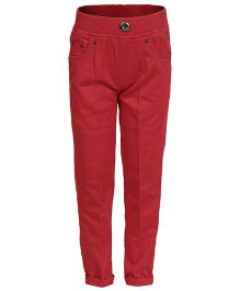 Benext Full Length Trousers - Red