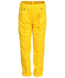 Benext Full Length Trousers - Yellow