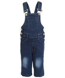 Benext Sleeveless Denim Dungaree - Blue