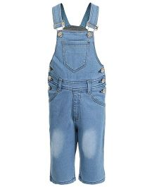Benext Sleeveless Denim Dungaree - Light Blue