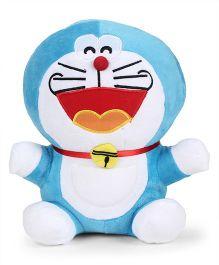 Doraemon Laughing Plush Soft Toy Blue - Height 25 cm
