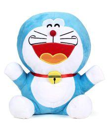 Doraemon Laughing Plush Soft Toy Blue - Height 40 cm