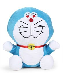 Doraemon Plush Soft Toy Blue And White - Height 40 cm