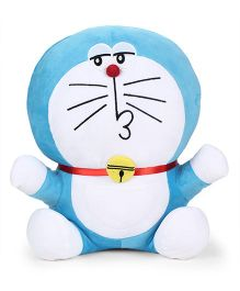 Doraemon Naughty Plush Soft Toy Blue - Height 40 cm