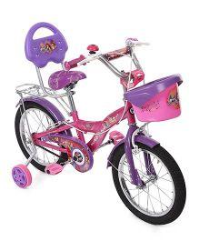 Hero Cycles Disney Princess 16T Bicycle - Pink Purple