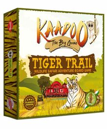 Kaadoo Tiger Trail Central India Edition Board Game - Multicolor