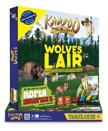 Kaadoo Wolves' Lair North America Edition Board Game - Multicolor