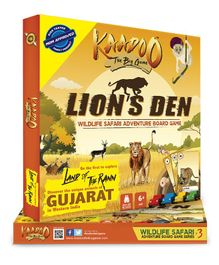 Kaadoo Lion's Den Western India Edition Board Game - Multicolor