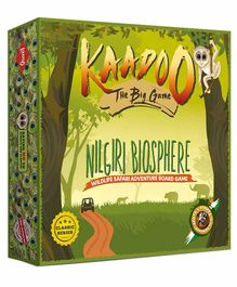 Kaadoo Nilgiris Biosphere Spots & Stripes Edition Board Game - Green
