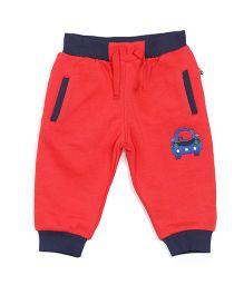 FS Mini Klub Full Length Track Pant Bottoms - Red