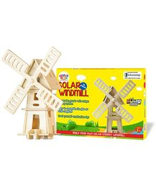 Genius Box Windmill 2 3D Wooden Puzzle Multi Color - 16 Pieces