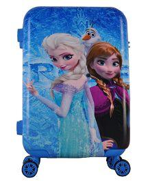 Disney Gamme Frozen Stylish Sister Luggage Bag - Blue