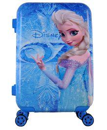 Disney Gamme Frozen Magic World Luggage Bag - Blue