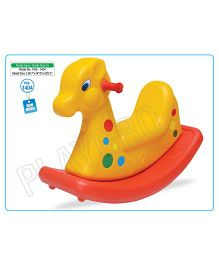 Playgro Toys Giraffe Shaped Rocker - Yellow PGS-1404 (color may vary)