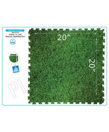 Playgro Toys Grass Look Mat Set Of 4 - Green PGS-3420 (color may vary)