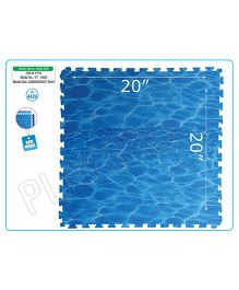Playgro Toys Water Look Mat Set Of 4 - Blue