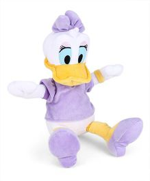 Disney Daisy Duck Soft Toy Purple - Height 25 cm