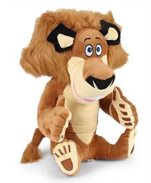 Madagascar Alex Plush Soft Toy Brown - 38 cm