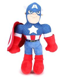 Marvel Captain America Soft Toy Blue & Red - 38 cm