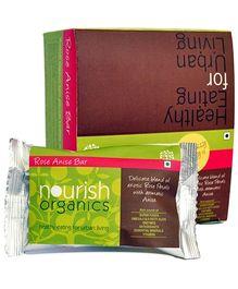 Nourish Organics Rose Anise Bar - 30 gm